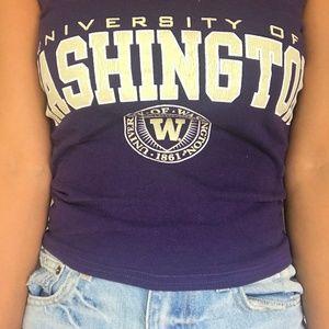 Tops - University of Washington Tube Top